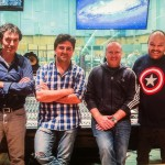 Abbey Road with Dave Cox,Oscar Araujo and Ferran