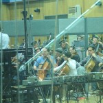 Recording in Abbey Road 2