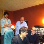 Recording musik for Tv,with Karlos Argiñano and Karlos Gimenez